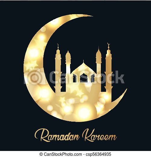 Ramadan Kareem background - csp56364935