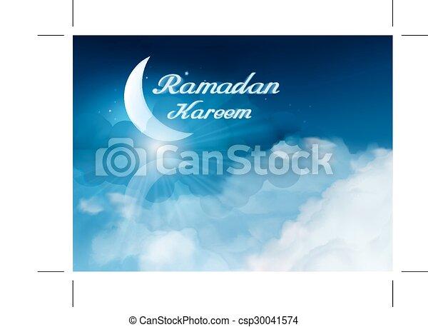 Ramadan kareem background - csp30041574