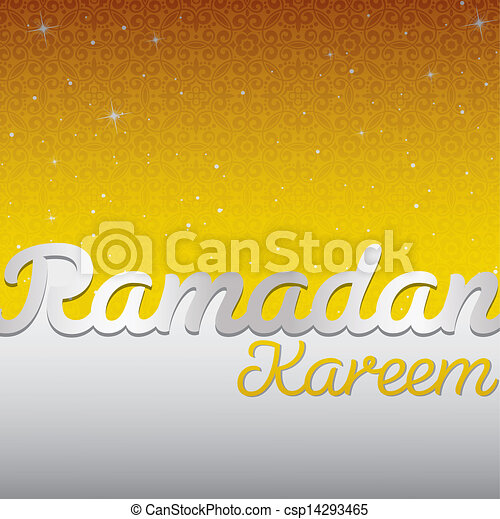 ramadan, kareem! - csp14293465