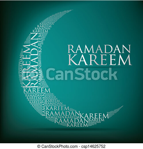 ramadan, kareem! - csp14625752