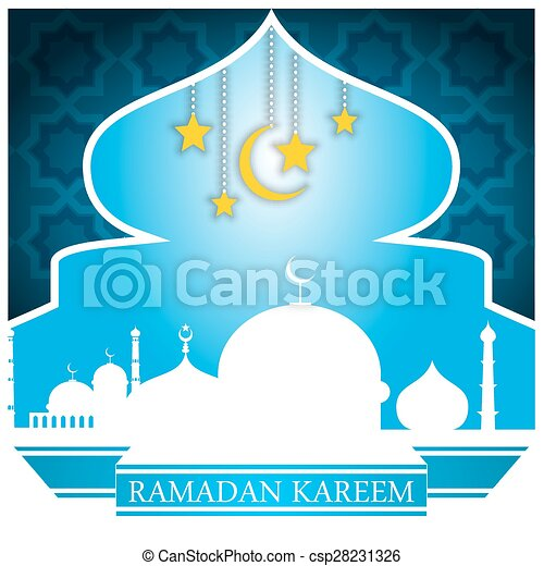 Ramadan kareem - csp28231326