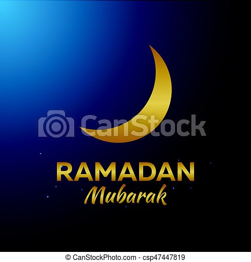 Ramadan kareem ramadan mubarak greeting card arabian vector ramadan mubarak greeting card arabian night with crescent moon m4hsunfo Choice Image