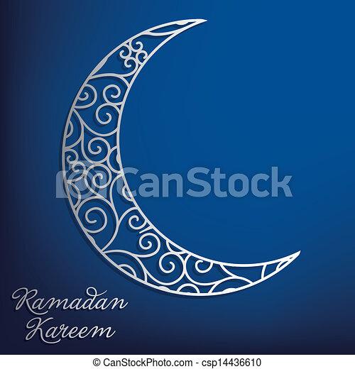 ramadan, kareem! - csp14436610