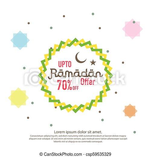 Ramadan sale offer banner design promotion poster voucher ramadan sale offer banner design promotion poster voucher discount label greeting card of m4hsunfo