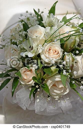 ramo, boda, -, 6 - csp0401749