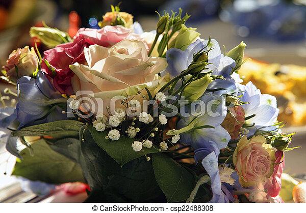 ramo, boda - csp22488308
