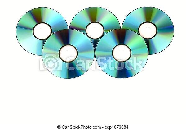 Pandilla de CD - csp1073084