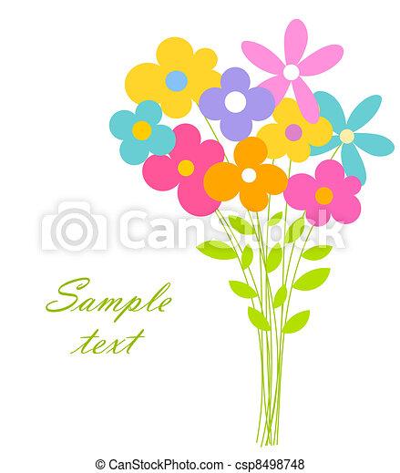 Flores de flores - csp8498748