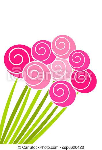 Un ramo de rosas - csp6620420