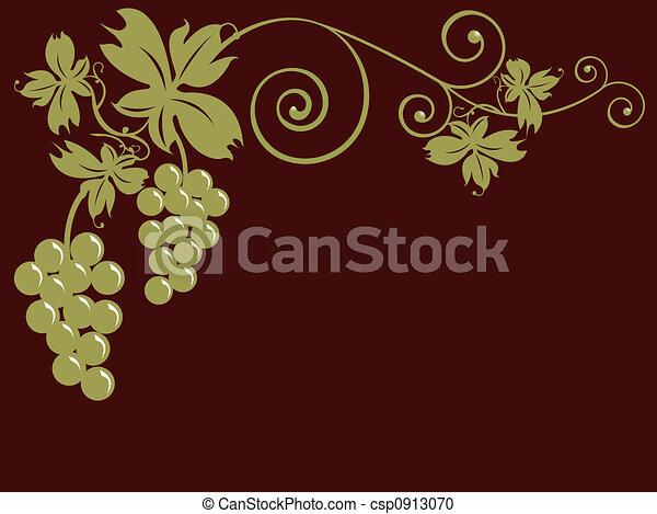 Montones de uvas - csp0913070