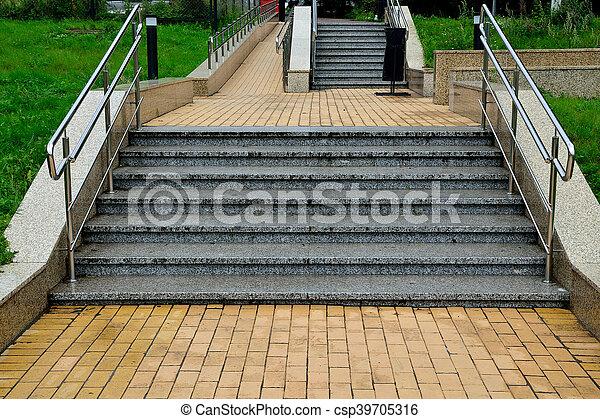 Ramp And Stairs   Csp39705316