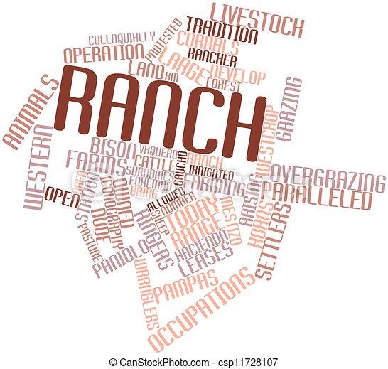 Termini etichette astratto ranch relativo parola for Piani di ranch tentacolare
