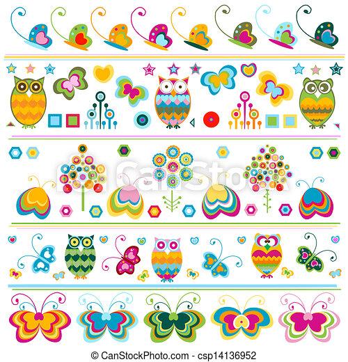 randjes, schattig, communie, kleurrijke - csp14136952