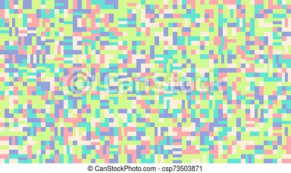 Random Colorful Chaotic Abstract Mosaic Tile Pattern Background Design