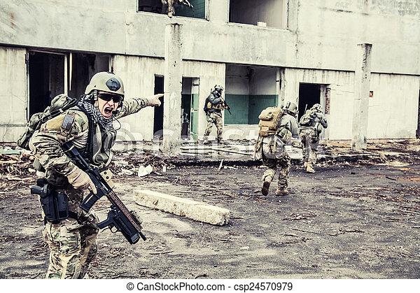 rangers in action - csp24570979