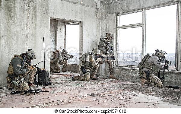 rangers in action - csp24571012