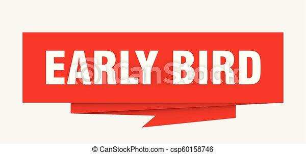 ranní ptáče - csp60158746