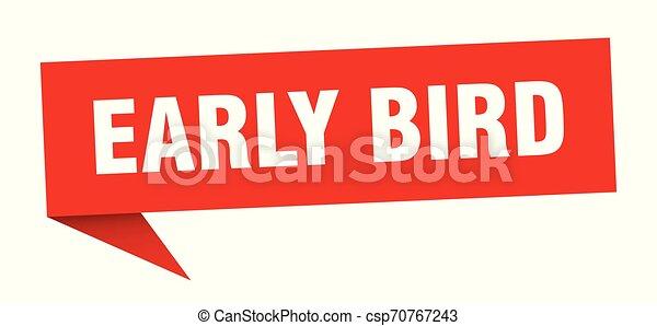 ranní ptáče - csp70767243