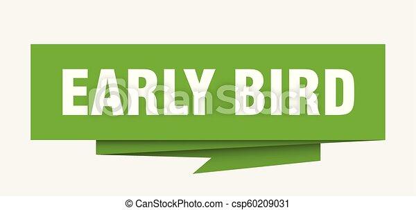 ranní ptáče - csp60209031