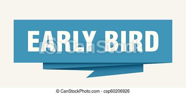 ranní ptáče - csp60206926