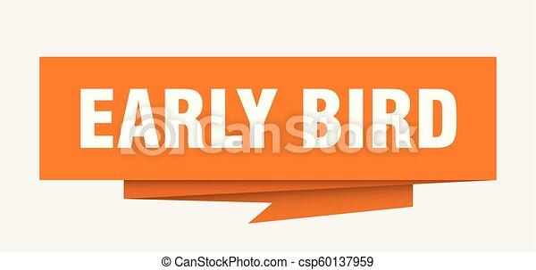 ranní ptáče - csp60137959