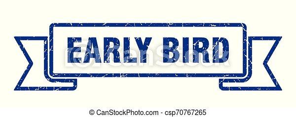 ranní ptáče - csp70767265