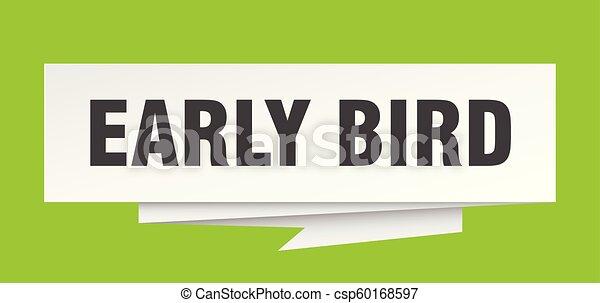 ranní ptáče - csp60168597