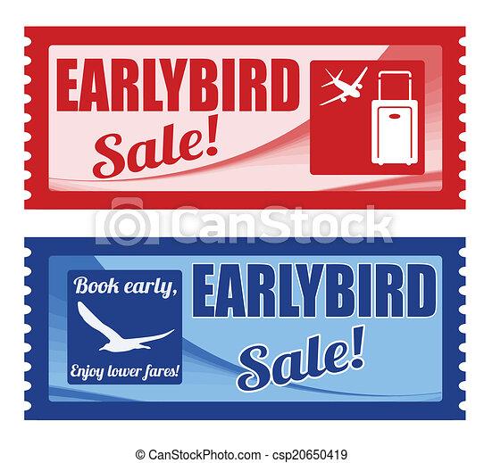 ranní ptáče, kupón, prodej - csp20650419