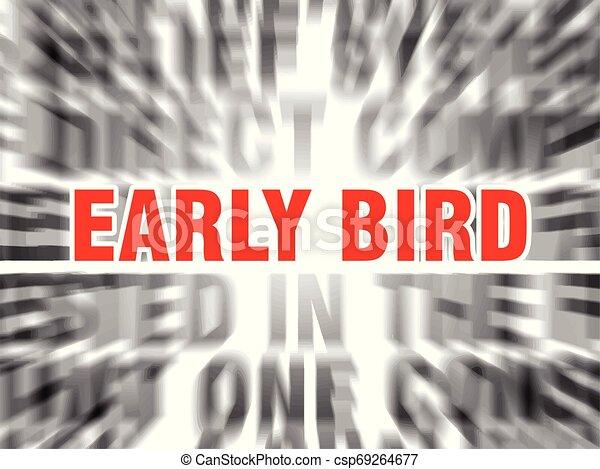 ranní ptáče - csp69264677