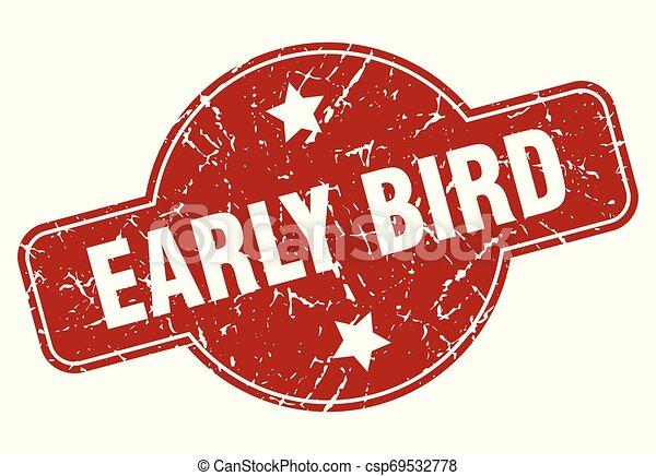 ranní ptáče - csp69532778