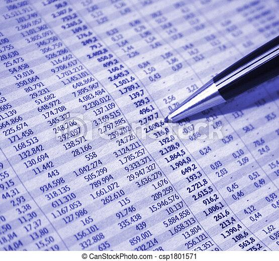 rapport, comptabilité - csp1801571