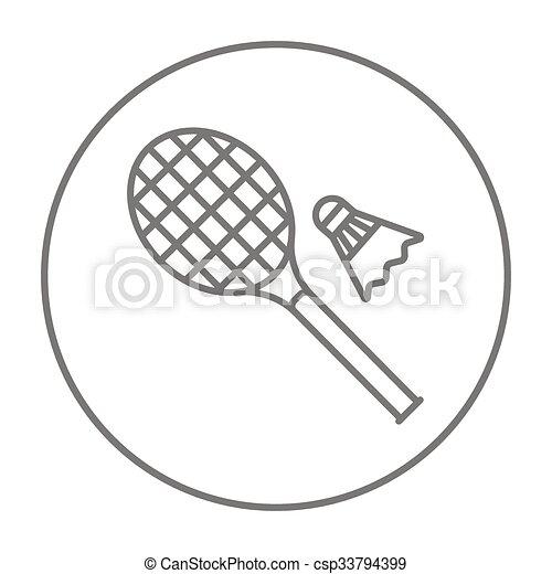 Dessin raquette badminton - Raquette dessin ...