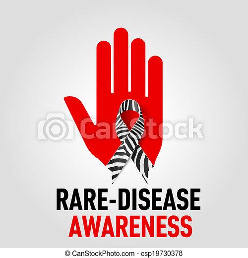 Rare-Disease Awareness sign - csp19730378