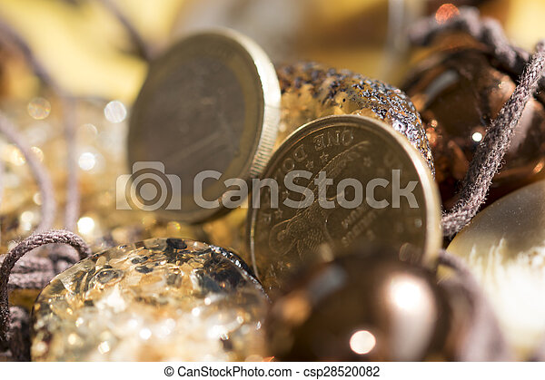 rare stones and money - csp28520082
