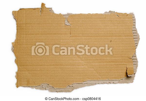 Cartón torcido - csp0804416