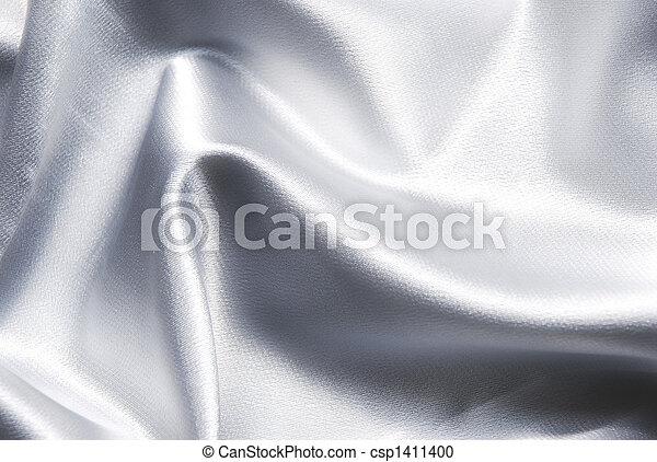 Un fondo de satén blanco - csp1411400