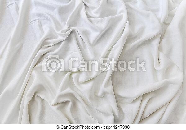 Trasfondo de satén blanco - csp44247330