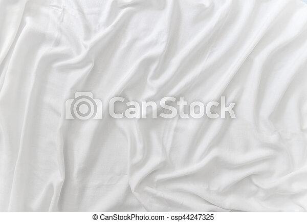 Trasfondo de satén blanco - csp44247325