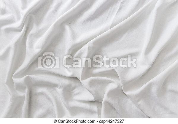 Trasfondo de satén blanco - csp44247327