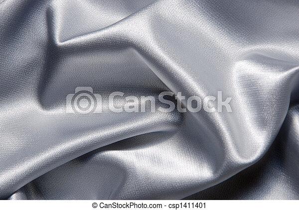 Un fondo de satén blanco - csp1411401