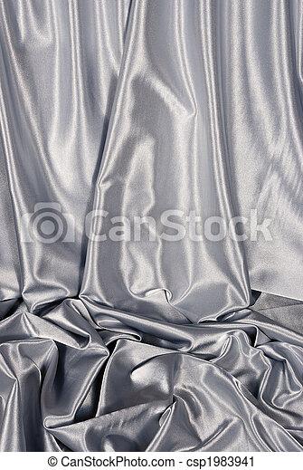 Un fondo de satén blanco - csp1983941