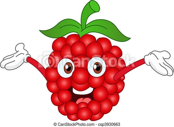 cartoon raspberry raising his hands vectors search clip art rh canstockphoto com strawberry clip art images strawberry clip art free