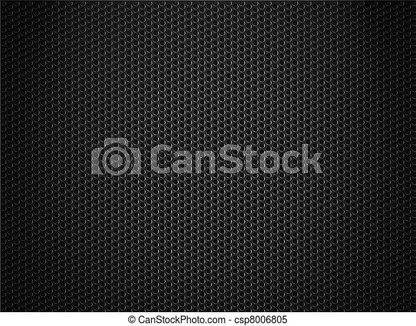 raspen, black , metaal, achtergrond - csp8006805