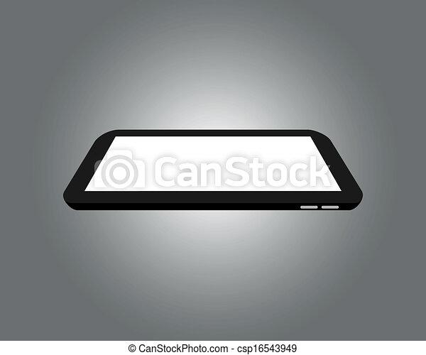 raster, イメージ, -, タブレット, デジタル - csp16543949