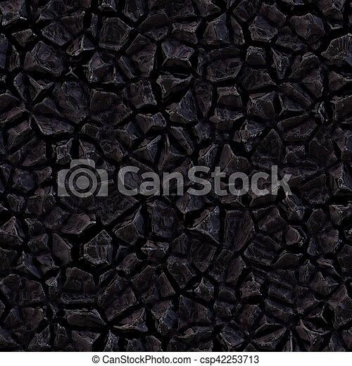 . Raster Seamless Dark Stone Texture