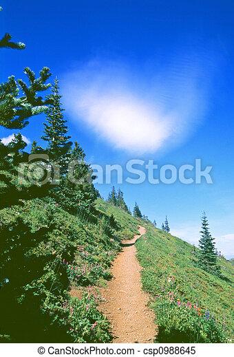 rastro, hiking - csp0988645