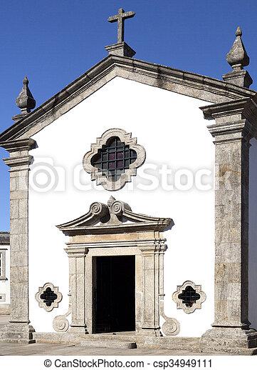 Rates Chapel of Senhor da Praca - csp34949111