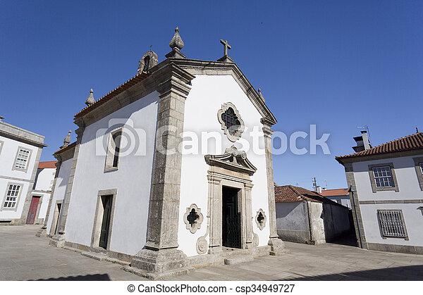Rates Chapel of Senhor da Praca - csp34949727