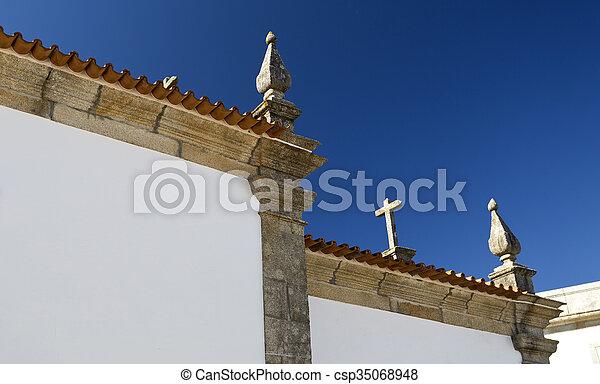 Rates Chapel of Senhor da Praca - csp35068948
