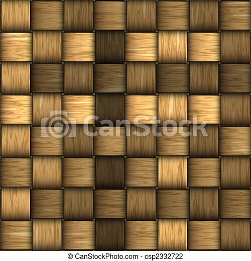 rattan, seamless, fundo, tecer - csp2332722